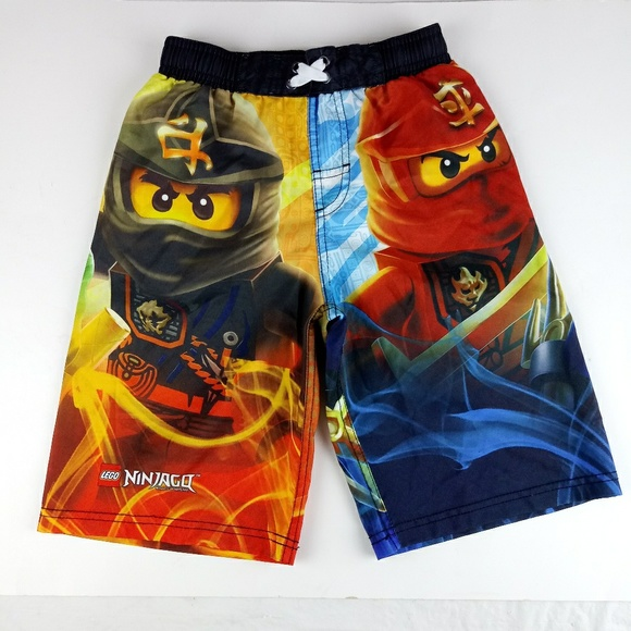 d554d3a880 Lego Bottoms | Ninjago Masters Of Spinjitzu Swim Trunks | Poshmark